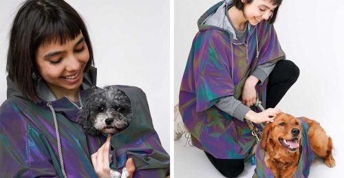 Passzoló esőkabát a kutyádnak és neked