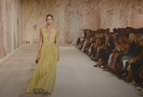 Nézd meg a Dior haute couture divatbemutatóját videón!
