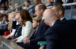 György herceg teljes átéléssel szurkolt tegnap az Eb-döntőn