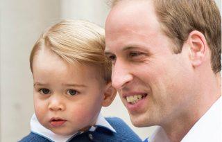 5 alkalom, amikor a 8 éves György herceg úgy öltözött, mint az apukája