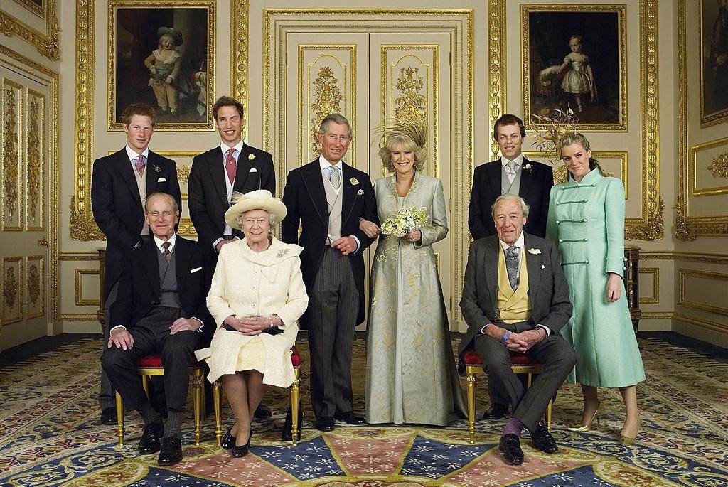 Károly herceg és Kamilla hercegné esküvője