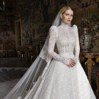A Dolce & Gabbana tervezte Diana unokahúgának menyasszonyi ruháját