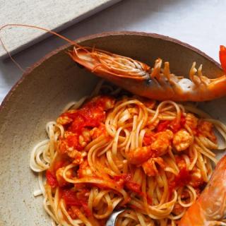 Garnélás-paradicsomos tészta, ahogy az olaszok készítik