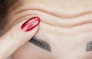 5 módszer a homlokráncok megelőzésére és elűzésére – botox nélkül