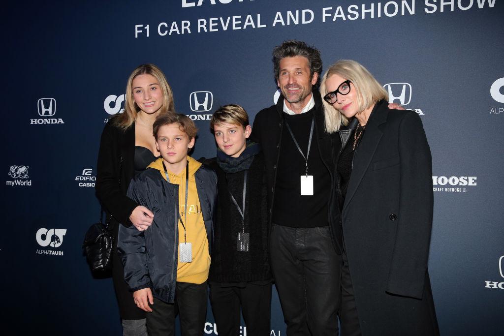 Patrick Dempsey felesége és gyerekei