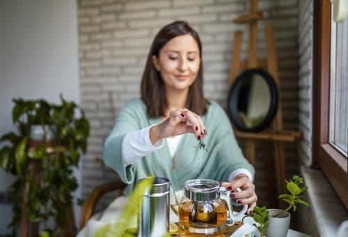 Zöld teával hajat mosni? Miért ne?