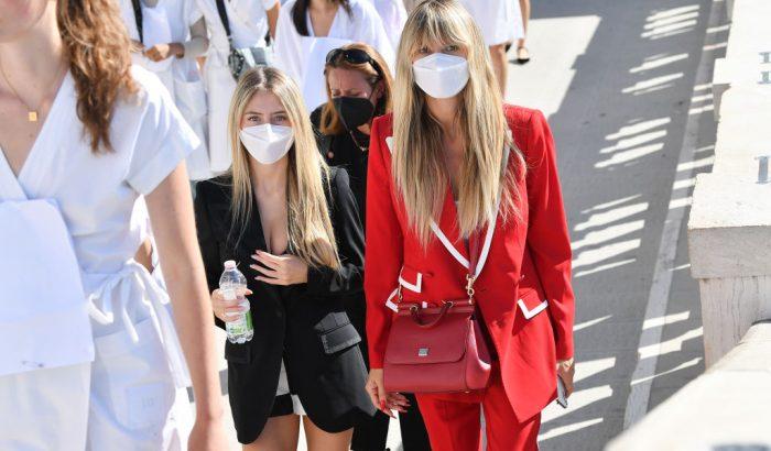 Heidi Klum összeöltözött a lányával