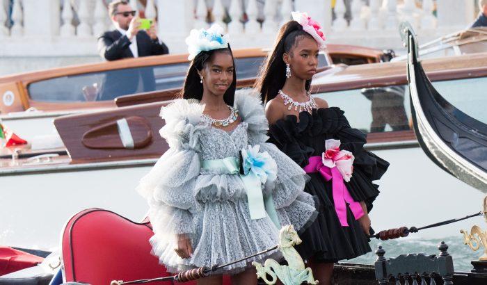 Sztárgyerekektől hemzsegett a Dolce & Gabbana show-ja