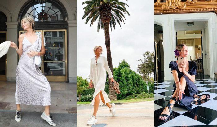 Janet Gunn: az 58 éves influenszer rajong a lapos cipőkért