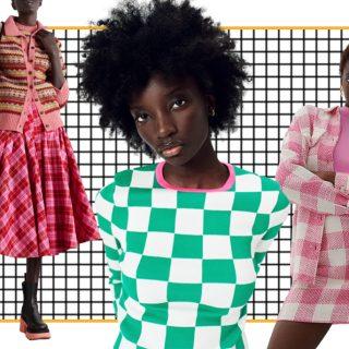 Sakktábla, tartán, gingham – Hódítanak ősszel a kockás minták a divatban