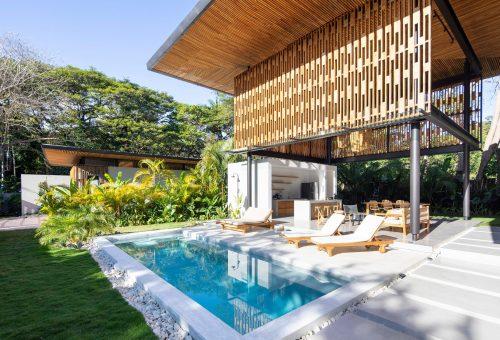 Álombeli luxusvillák az esőerdő közepén