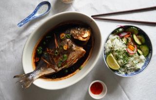 Sült hal 10 perc alatt - ázsiai ízekkel