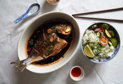 Sült hal 10 perc alatt – ázsiai ízekkel