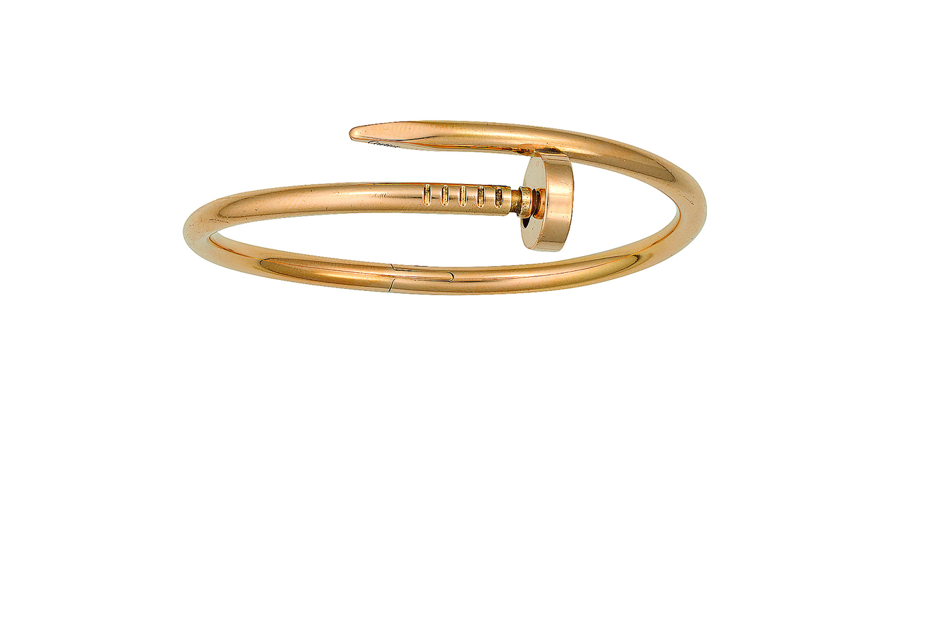 2. kép: A Cartier ikonikus hajlított szöget formázó karkötője