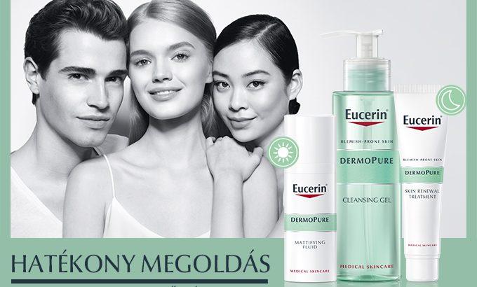 Tapintható magabiztosság az Eucerin bőrápolójával
