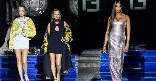 Egymásnak tervezett a Versace és a Fendi