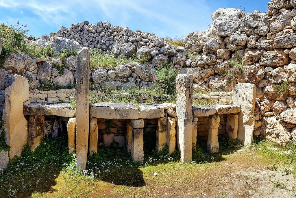 Ggantija,Gozo szigetén, Máltán