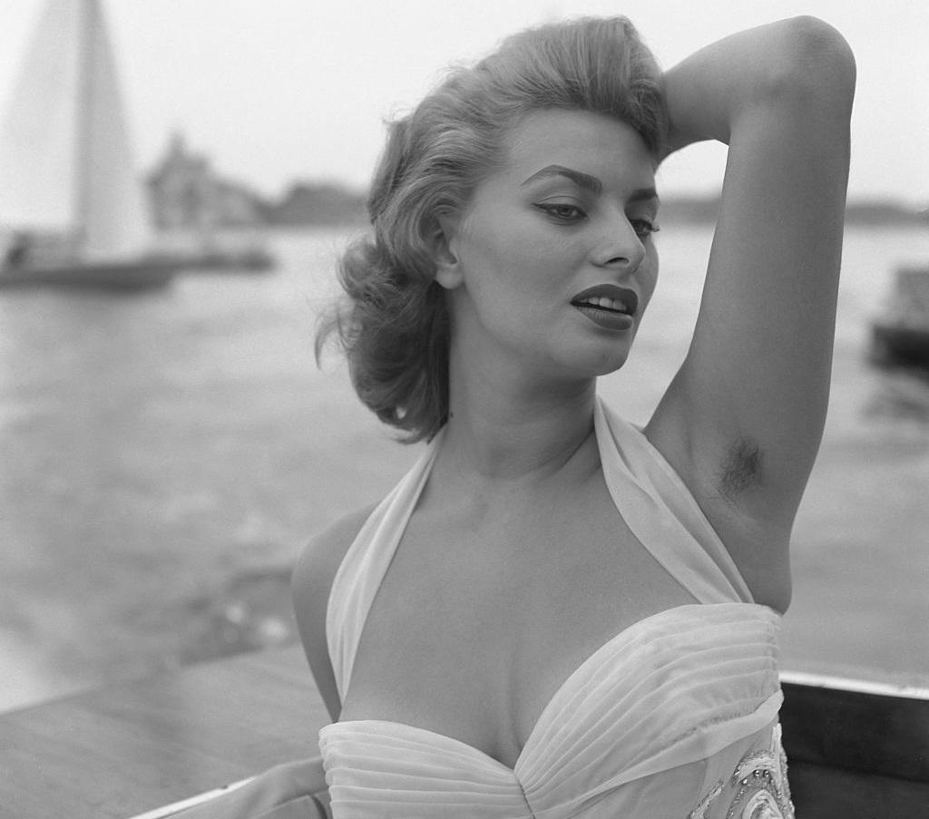 Sophia Loren az 1955-ös Velencei Filmfesztiválon