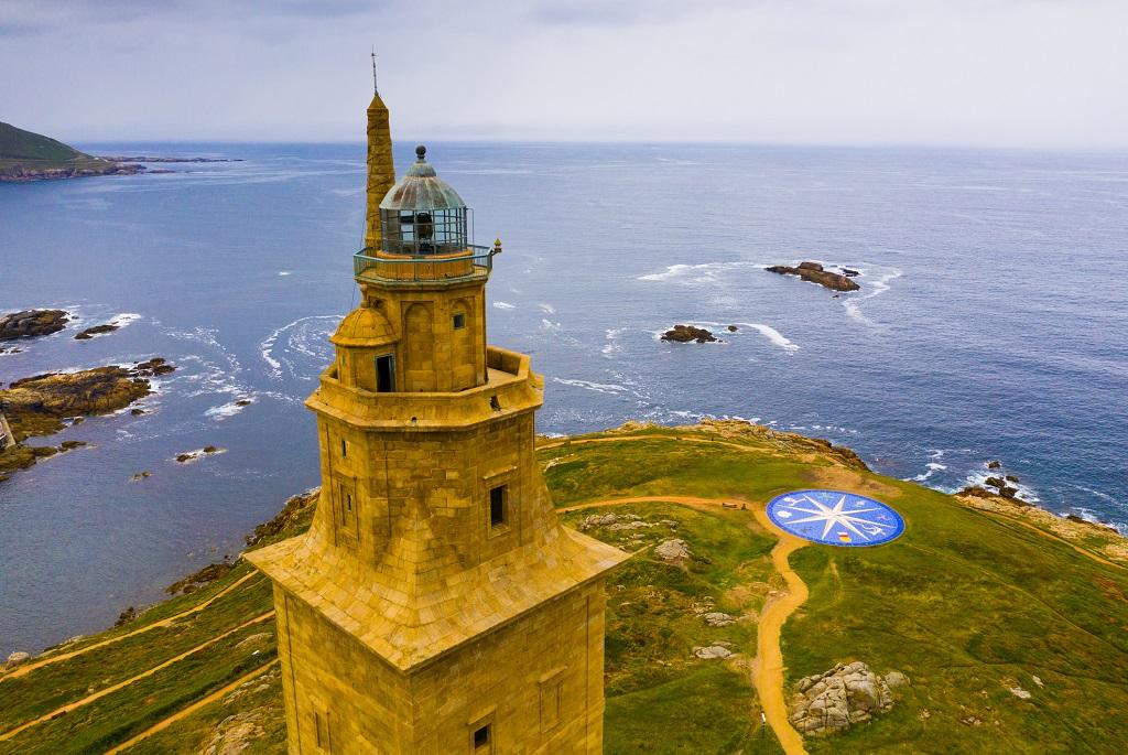 Herkules torony Spanyolországban