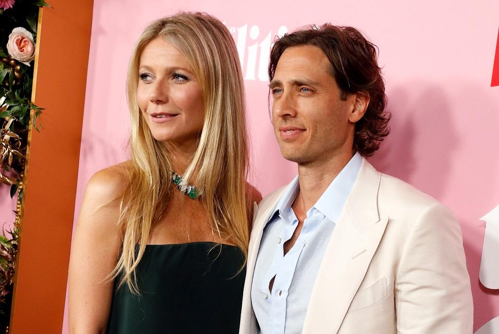 Gwyneth Paltrow és második férje, Brad Falchuk