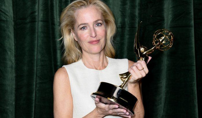 Gillian Anderson akcentusa kiverte a biztosítékot az Emmy-díjátadón