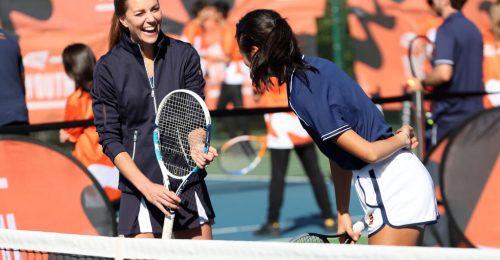 Kate Middleton a sportpályán is bizonyított