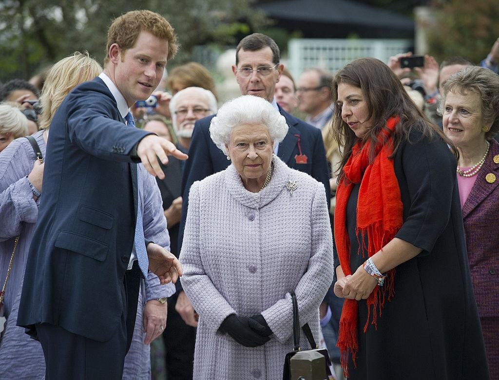 Harry herceg és II. Erzsébet királynő