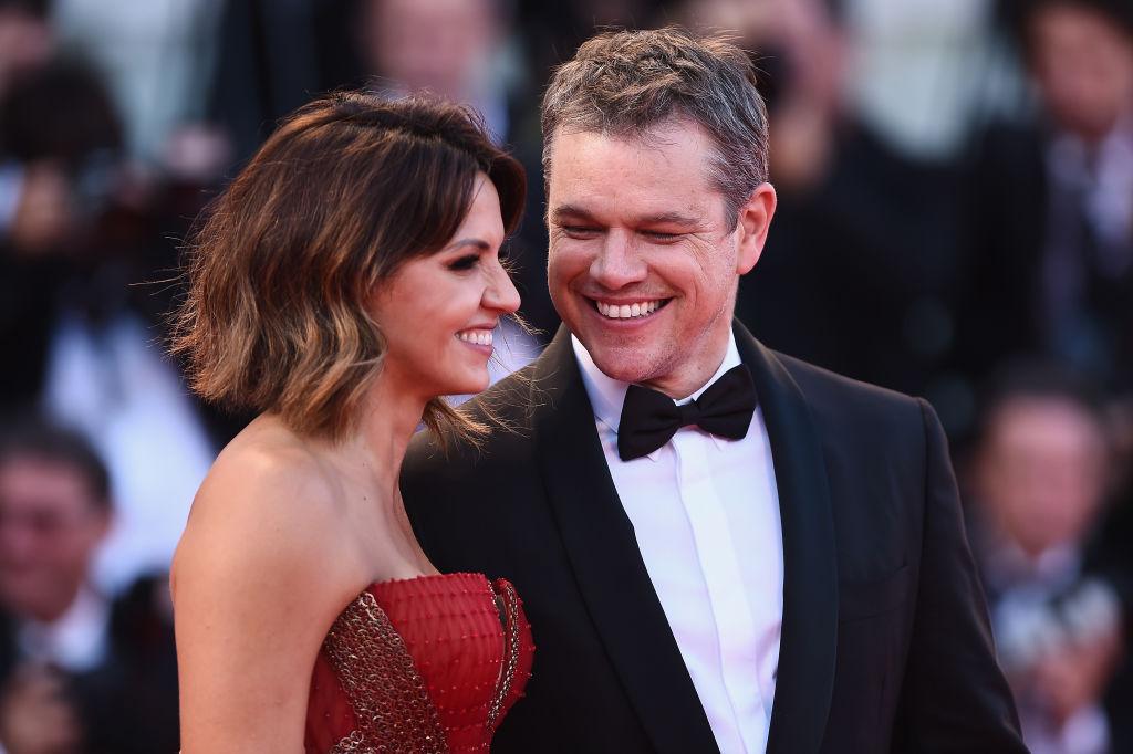 Matt Damon és Luciana Barroso
