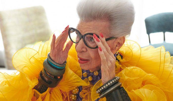 Összeállt a 100 éves divatikon, Iris Apfel és a H&M