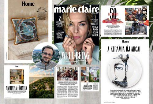 Másodszor jelent meg HOME melléklettel a Marie Claire