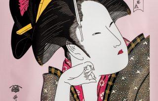 Egzotikus japán arcmaszkok és közös tiltakozás az állatokért