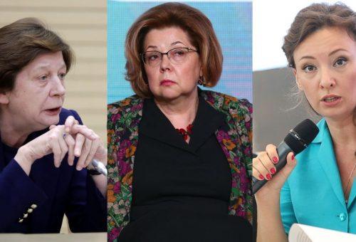 Három nő, aki együtt építi Putyinnal a nőellenes Oroszországot