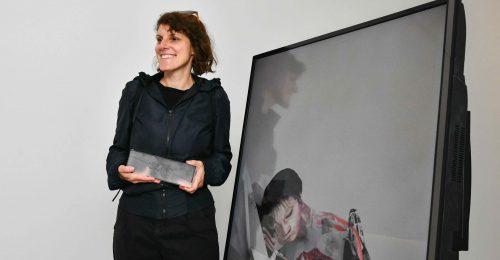 Szabó Eszter a 2021-es Leopold Bloom képzőművészeti díj nyertese
