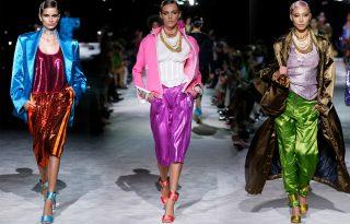 Neonszínek, fényes lezserség: ilyen lett Tom Ford tavaszi kollekciója