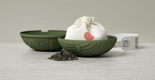 Az ültetvények mintázatai ihlették a különleges teacsomagolást