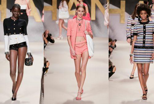 A szupermodellek éráját idézte meg a Chanel