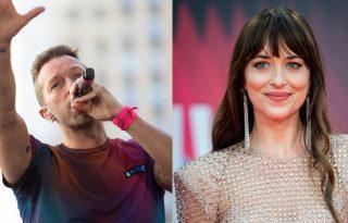 Chris Martin londoni koncertjén szerenádozott Dakota Johnsonnak
