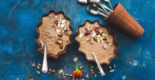 Fűszeres reggelek: rózsás-kardamomos phirini