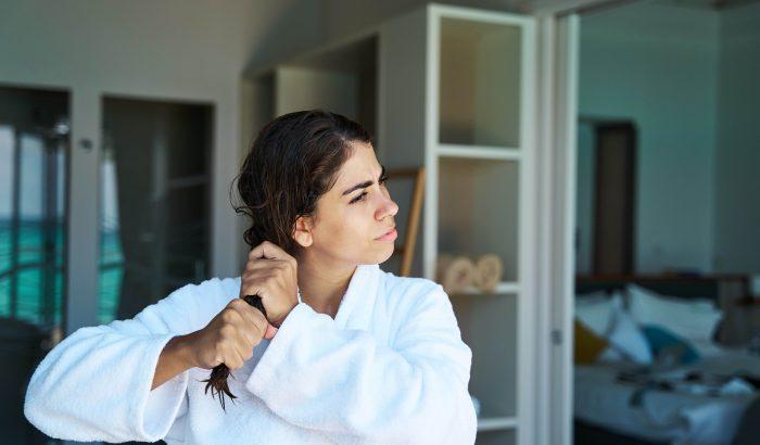 A rossz hajmosási technika miatt is hullhat a hajad
